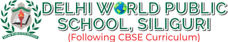 Delhi World Public School, Siliguri Logo